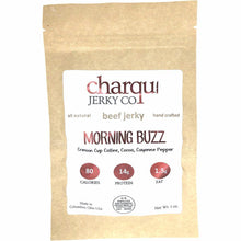 Charqui Jerky Co Morning Buzz Coffee Flavored Beef Jerky