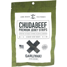 Chudabeef Garliyaki Craft Beef Jerky - Garlic and Teriyaki Flavored