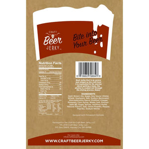 Brunette Nut Brown Ale Beef Jerky Back