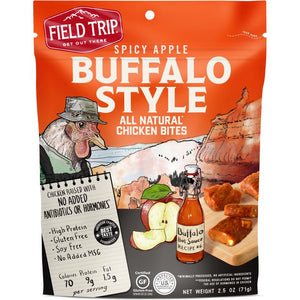 Field Trip Spicy Apple Buffalo Chicken Bites Front Of Package