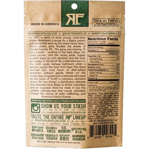 Righteous Felon Fowl Capone Turkey Jerky Nutrition Facts
