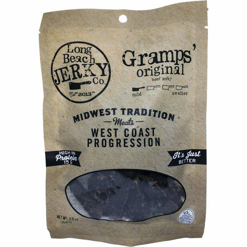 Long Beach Jerky Co. Gramps Original, 2.5-oz