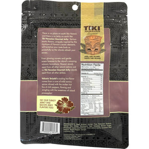 Tiki Hawaiian Volcanic Teriyaki Beef Jerky Nutrition Facts