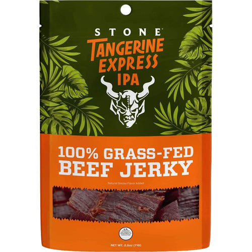 Stone Brewing Tangerine Express IPA Flavored Beef Jerky