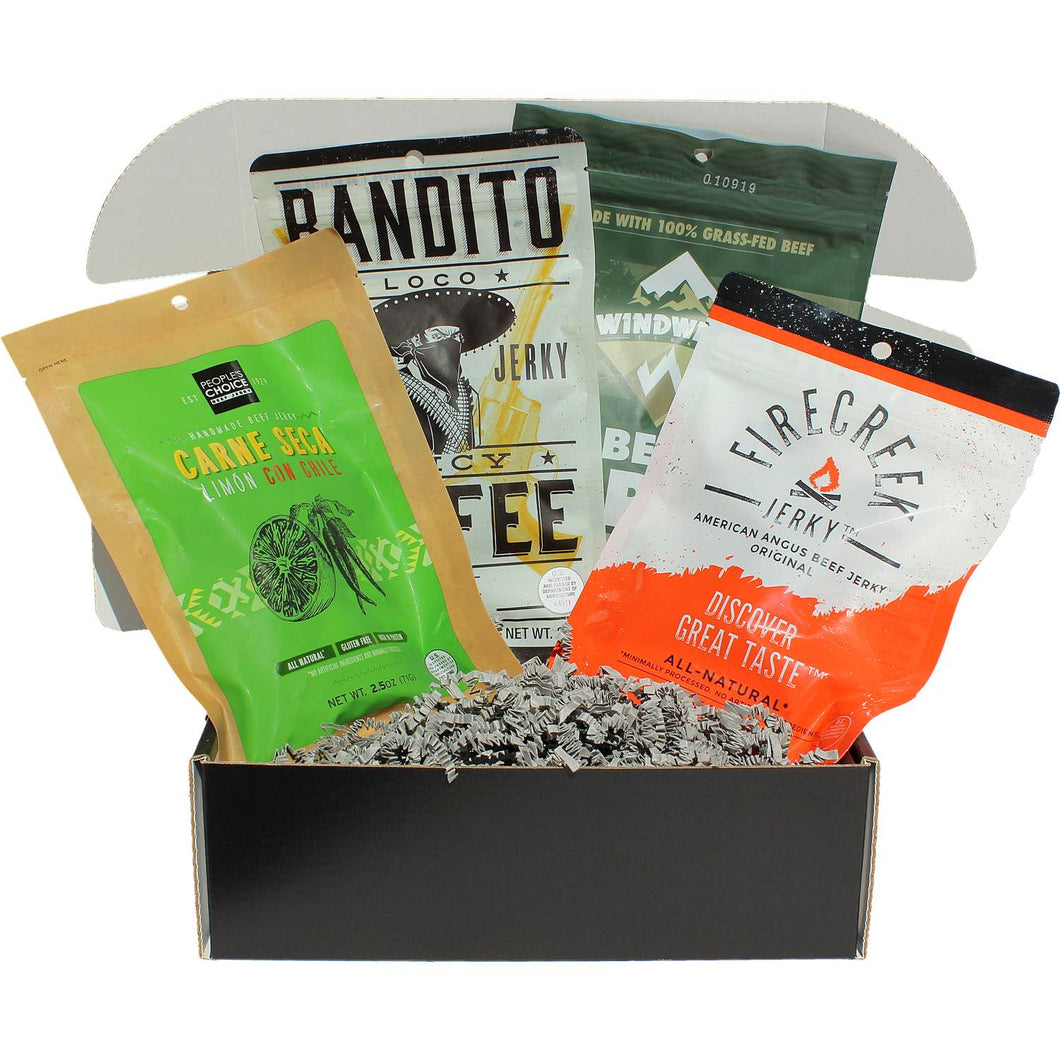 JerkyGent Beef Jerky Subscription Box