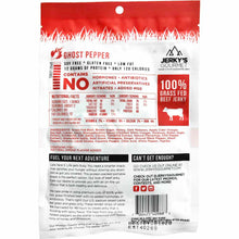 Jerkys Gourmet Ghost Pepper Spicy Beef Jerky Nutrition Facts
