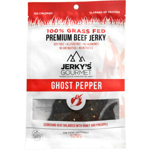 Jerky's Gourmet Ghost Pepper Spicy Beef Jerky