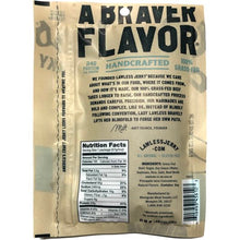 Lawless Craft Jerky Aloha Teriyaki Back of Package