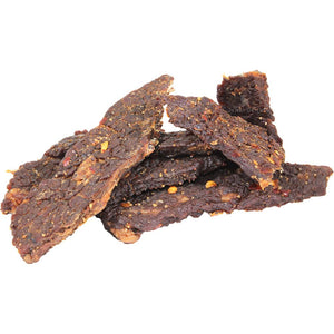 Long Beach Jerky Co Spicy Teriyaki flavored beef jerky