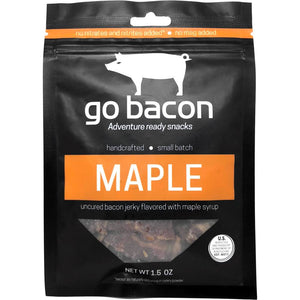 GoBacon Maple Bacon Jerky, 1.5-oz