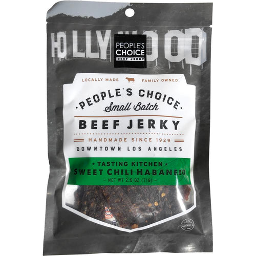 Peoples Choice Sweet Chili Habanero Beef Jerky Front