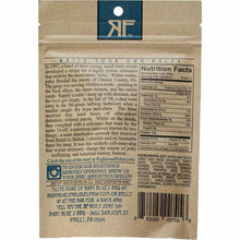Righteous Felon Baby Blues BBQ Jerky Back Nutrition Facts
