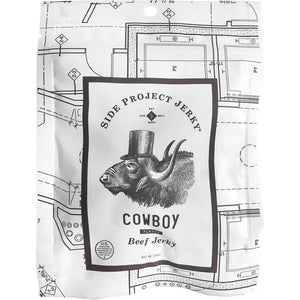 Side Project Jerky Cowboy Coffee Flavored Craft Beef Jerky