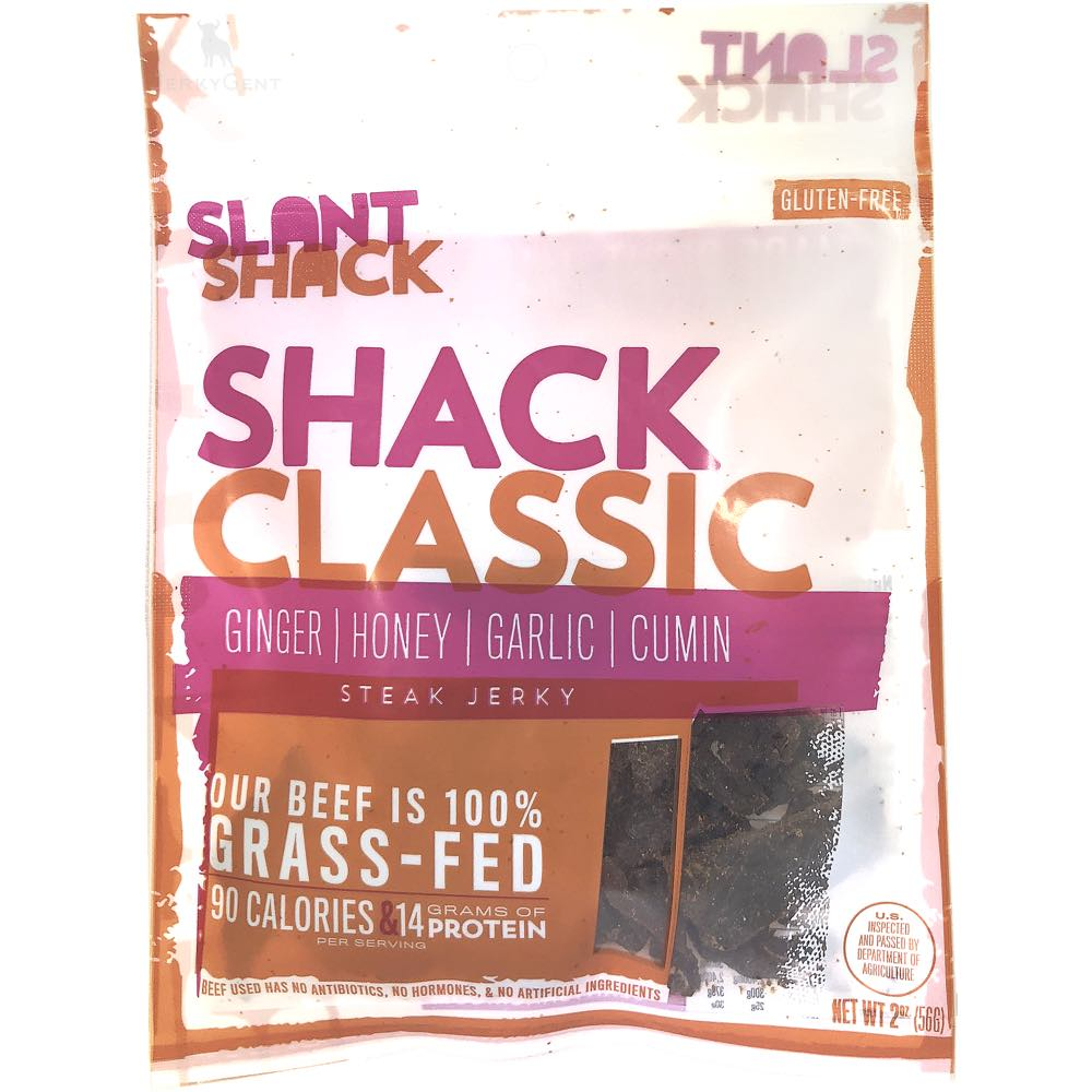 Slant Shack Steak Jerky Classic Flavored