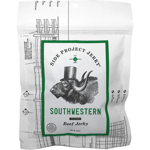 Side Project Jerky - Southwestern Green Chile Beef Jerky