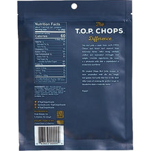 TOP Chops Beef Jerky Original Flavor Back Of Package