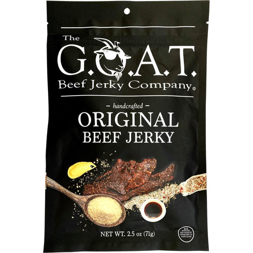 The GOAT Beef Jerky Company Original Flavored Beef Jerky