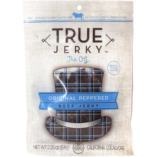 True Jerky Original Peppered Gourmet Beef Jerky