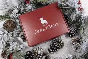 JerkyGent Christmas Holiday Gift Box Beef Jerky