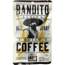 Uncle Andy's Bandito Loco Spicy Coffee Flavored Beef Jerky