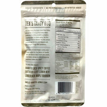Tangy BBQ Beef Jerky - Uncle Andy's - Back Of Package