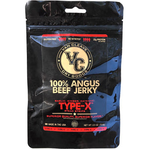 VC Dry Goods Type-X Beef Jerky Front