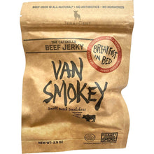 Van Smokey Hickory Smoked Beef Jerky Coffee Flavored Breakfast In Bed