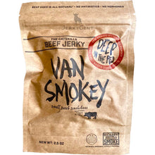 Van Smokey Beef Jerky Deep In The Red Hatch Chili Jerky