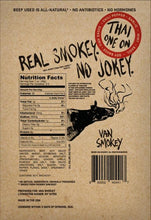 Van Smokey Thai One On Nutrition Facts