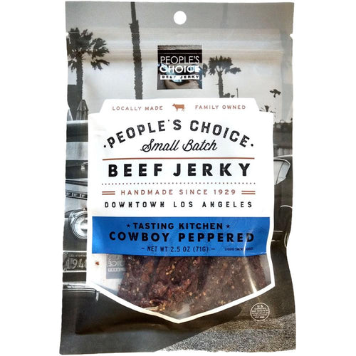 People's Choice Beef Jerky Cowboy Peppered Flavored Jerky