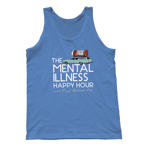 Mental Illness Happy Hour Logo Tank Top – Unisex Fit