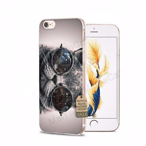 Cool Cat iPhone Cases