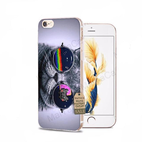 Internet Cool Cat iPhone Cases