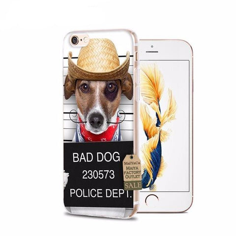 Bad Dog iPhone Cases