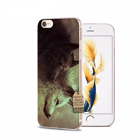 Wolf Pack iPhone Cases