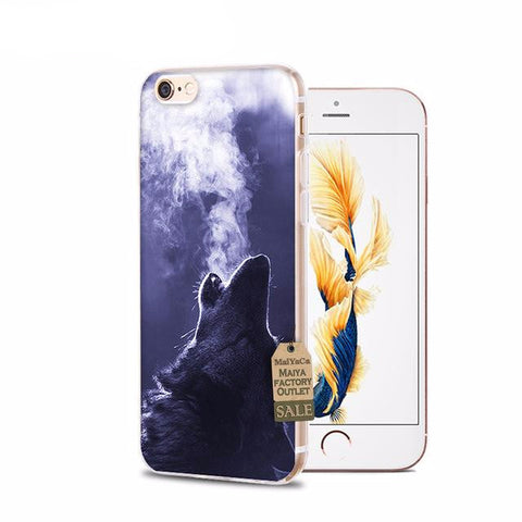 Wolf Breath iPhone Cases