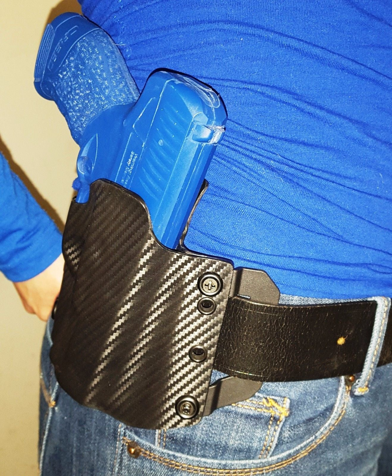 Walther CREED Holster - OWB Kydex w/ Forward Cant - (Carbon
