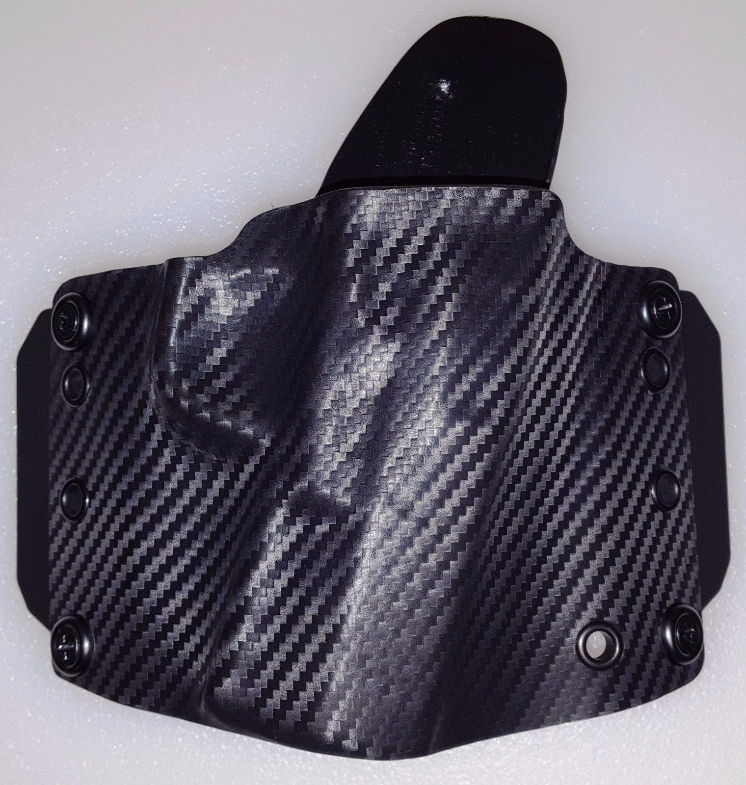 Walther CREED Holster OWB Kydex with Forward Cant Carbon Fiber // Black