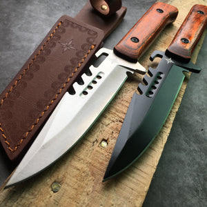 Survival Self-Defense Fighting Bowie Knife