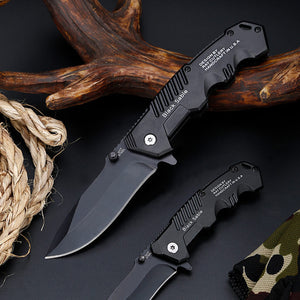 Military Survival Pocket Knife