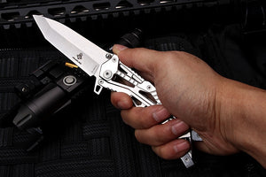 Skeletonized Tactical Knife