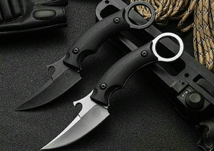 Karambit Camping Knife D2 Steel With G10 Handle Lightweight