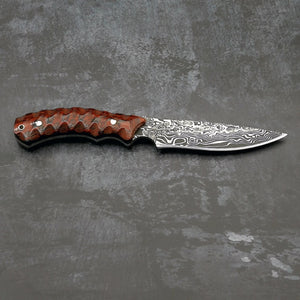 Micarta Fixed Blade Survival Knife