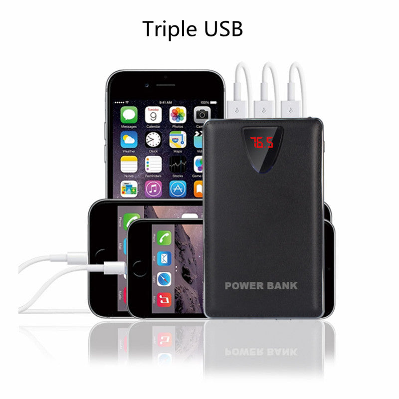 20,000 mAh Portable Battery with 3USB Port