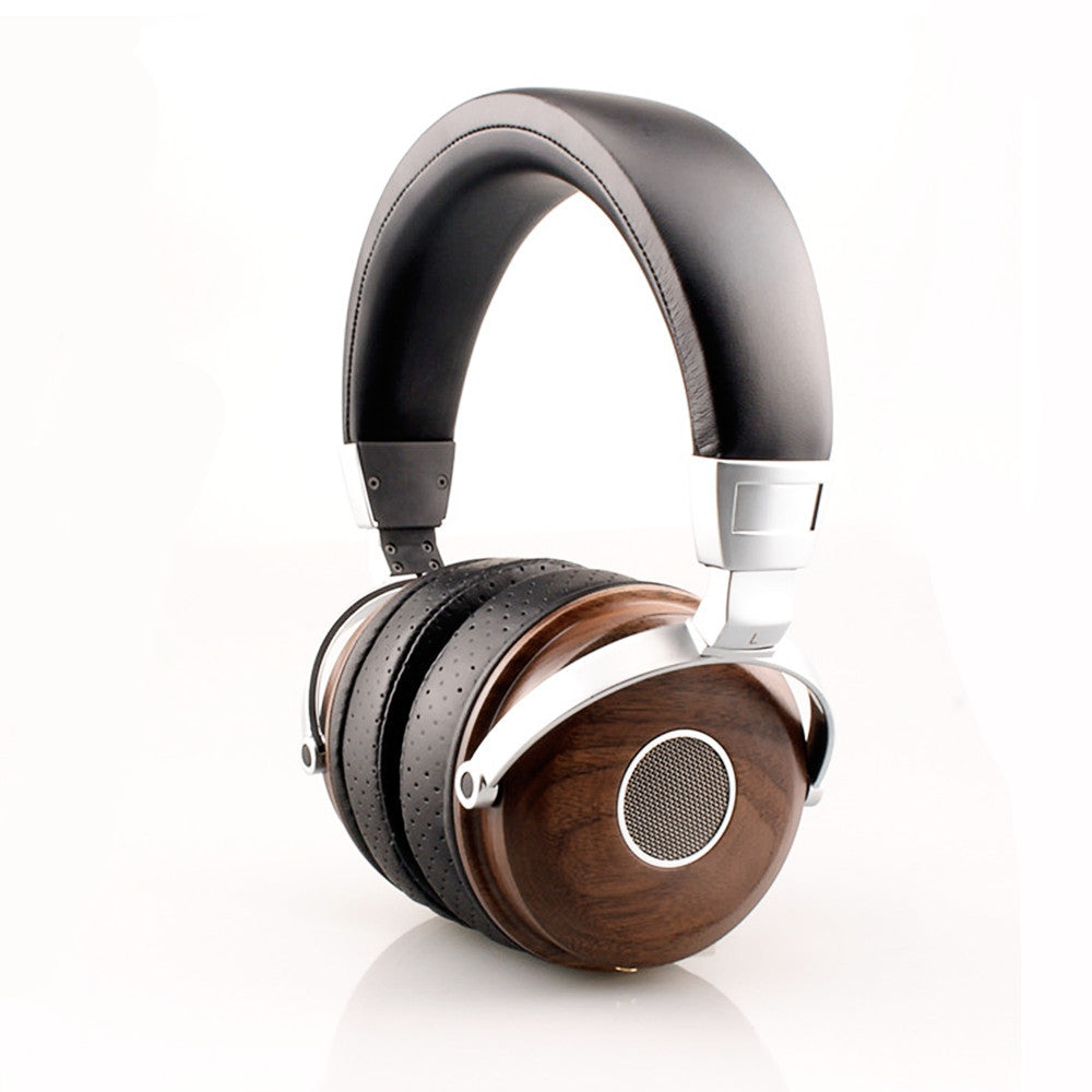 Metal and Wood HiFi Head Phones