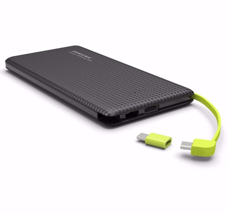 10000mAh Portable Battery with Dual USB Output Li-Polymer Charger
