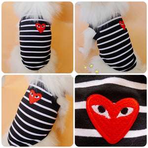 CDG Fashion Dog Vest