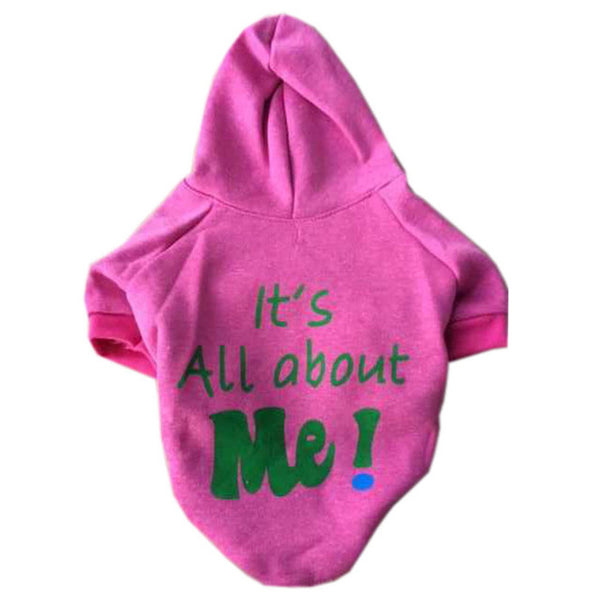 Its All About Me! Dog Hoodie