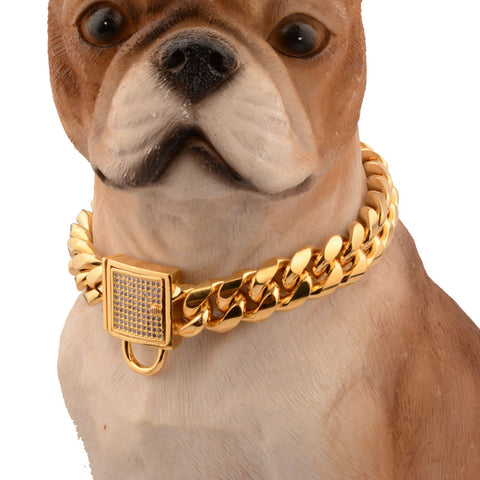 High-end Custom Diamond Pet Collar