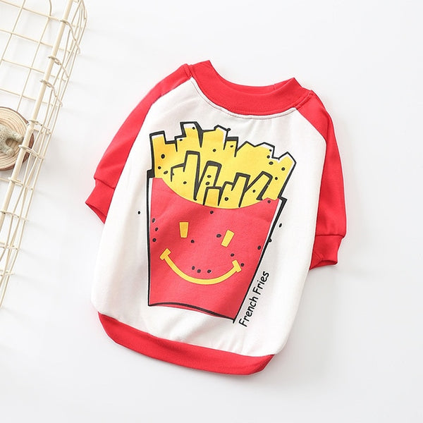 Frenchie Fries Dog Shirt